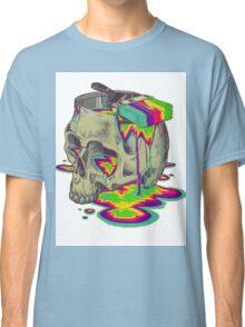 skull painted Classic T-Shirt