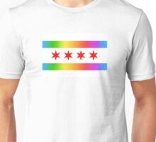 Chicago Pride Flag 2016 Unisex T-Shirt