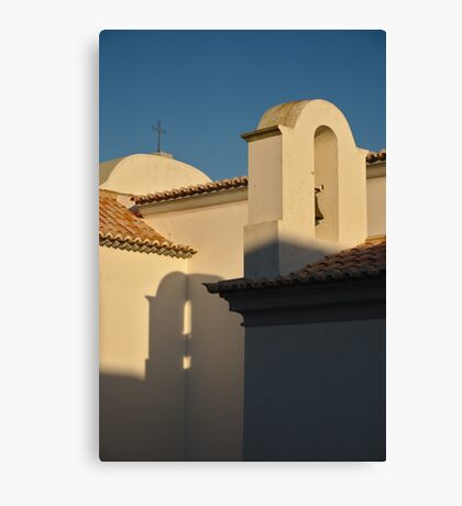 Chapel Architecture in Albufeira Canvas Print