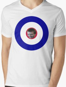Armygood1 Mens V-Neck T-Shirt