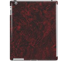 Red hours iPad Case/Skin