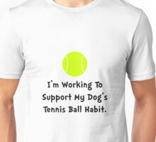 Dogs Tennis Ball Unisex T-Shirt