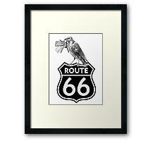 keys to Route 66 Framed Print