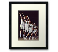 Steph Curry Poster Framed Print