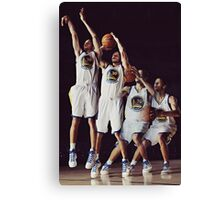 Steph Curry Poster Canvas Print