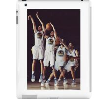 Steph Curry Poster iPad Case/Skin