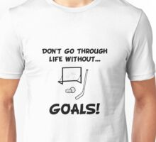 Hockey Goals Unisex T-Shirt