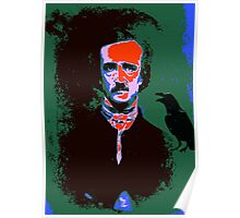 Edgar Allan Poe Pop Art 1 Poster