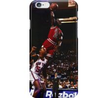 michael jordan chicago bulls iPhone Case/Skin
