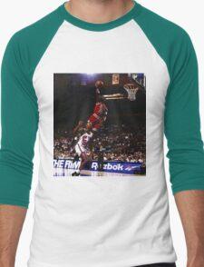 michael jordan chicago bulls Men's Baseball ¾ T-Shirt