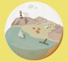 Sailing holidays planet /Marek/ Kids Tee