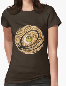 eye number 35 Womens Fitted T-Shirt