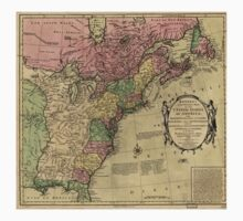 American Revolutionary War Era Maps 1750-1786 348 Bowles's new pocket map of the United States of America the British possessions of Canada Nova Scotia and Baby Tee