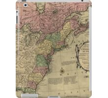American Revolutionary War Era Maps 1750-1786 348 Bowles's new pocket map of the United States of America the British possessions of Canada Nova Scotia and iPad Case/Skin