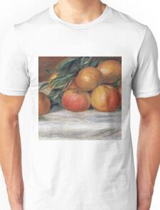 Renoir Auguste - Still Life With Apples And Oranges Unisex T-Shirt