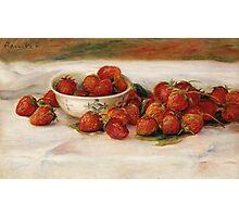 Renoir Auguste - Strawberries Photographic Print