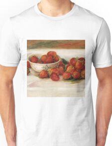 Renoir Auguste - Strawberries Unisex T-Shirt