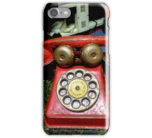 The Red Phone  iPhone Case/Skin