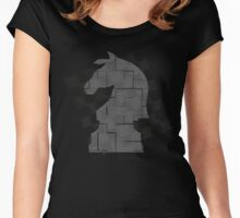 Chess Horse Women's Fitted Scoop T-Shirt