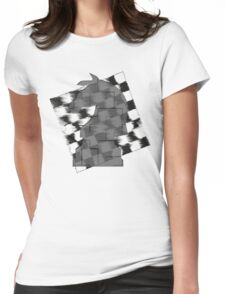 Chess Horse Womens Fitted T-Shirt