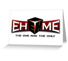 Team Ehome logo Greeting Card