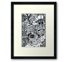 Super Massive Tikki Framed Print