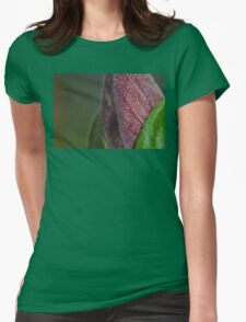 On the Path to Bloom Womens Fitted T-Shirt