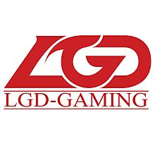 Team LGD Gaming logo Photographic Print