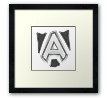 Team Alliance Dota 2 Framed Print