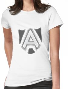 Team Alliance Dota 2 Womens Fitted T-Shirt