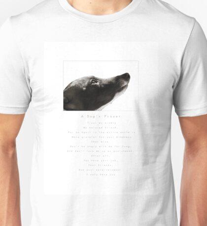 A Dog's Prayer Unisex T-Shirt