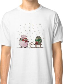 Winter fun Classic T-Shirt