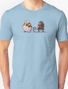 Pig and hedgehog Unisex T-Shirt