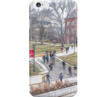 On The Way To Class iPhone Case/Skin