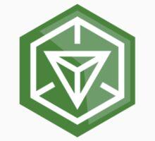 Ingress Game Logo - Green (Enlightened) Baby Tee