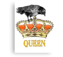 The Queen crown  Canvas Print