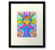 Psychedelic ALF Framed Print