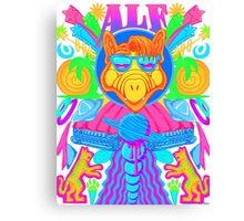 Psychedelic ALF Canvas Print