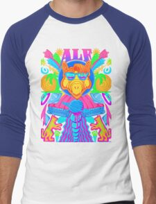 Psychedelic ALF Men's Baseball ¾ T-Shirt