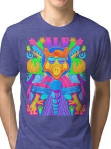 Psychedelic ALF Tri-blend T-Shirt