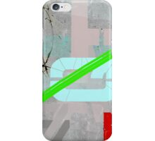Letters and barbed wire iPhone Case/Skin