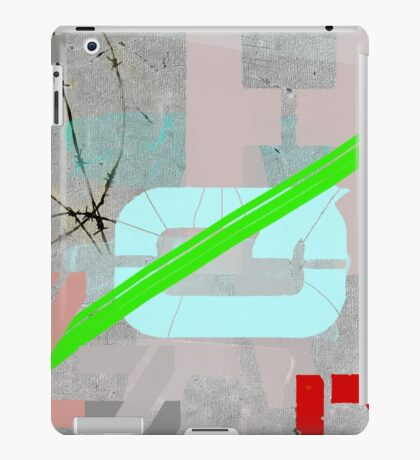 Letters and barbed wire iPad Case/Skin