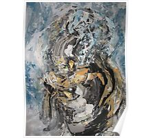 Stairway to Heaven Demolition, not by Led Zeppelin - Original Wall Modern Abstract Art Painting Poster
