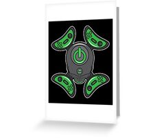 Video Game Cross and Bones Greeting Card