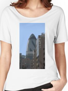 The Gherkin aka 30 St Mary Axe Women's Relaxed Fit T-Shirt