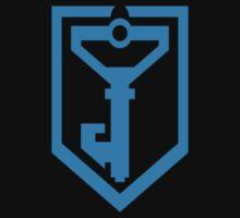 Ingress Resistance Logo - Blue Kids Tee