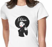 Melanin Womens Fitted T-Shirt