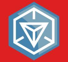 Ingress Game Logo - Blue (Resistance) Kids Tee