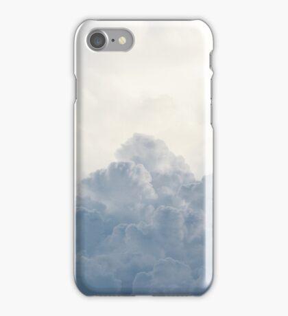 White Cloud Sky Cumulus Thunderhead Clouds iPhone Case/Skin