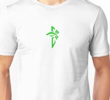 Ingress Enlightened Logo - Green Unisex T-Shirt
